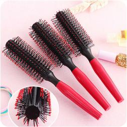 1/3/5X Roll Brush Round Curly Hair Comb Barber Salon Styling