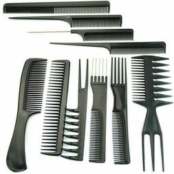 10 PCS Salon Hair Styling Comb Set Profession Hairdressing P
