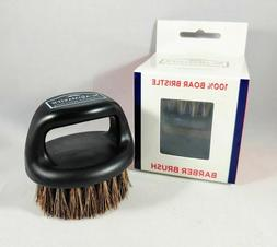 100% Boar Bristle Knuckle Barber Brush SC9048 by Scalpmaster