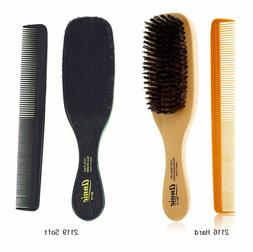 "ANNIE 100% PURE BOAR BRISTLE HAIR BRUSH 8 1/2"" WAVE BRUSH -Y"
