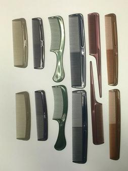 12 Pc Color Salon Hair Styling Hairdressing Plastic Barbers