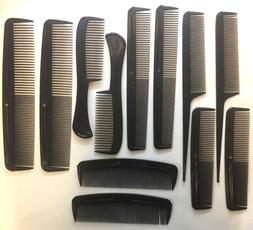 12 Pc Pro Salon Hair Styling Hairdressing Plastic Barbers Br