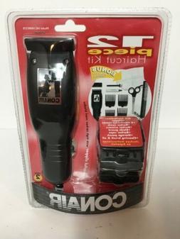 Conair 12 Piece Haircut Kit Clipper New Model: HC100RCCS