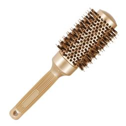 Comb 2.1inch/54mm Boar Bristle Round Hair Brush For Styling