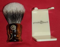 Frank Shaving 2 Band Finest Badger Hair Shaving Brush Faux A