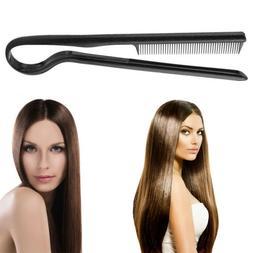2018 Hot Smoothing Brush Hair Straightener Comb Heating Stra