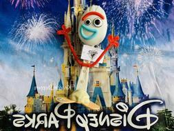 2020 Disney Parks Pixar Toy Story 4 Forky Child Kids Stand U