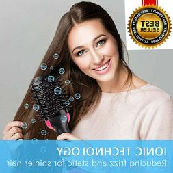 2In1 One Step Hair Dryer and Volumizer Brush Comb Straighten