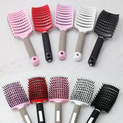 Hair Comb Massage Abody Scalp Detangle Hairbrush Nylon Brush