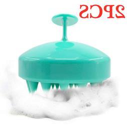 2pcs Mini Hair Scalp Massager Shampoo Brush, MAXSOFT Care Br