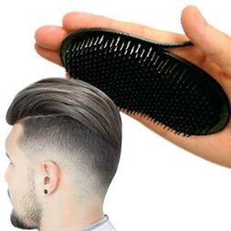 2Pcs Pocket Comb Brush Hair Men Beard Mustache Palm Travel S