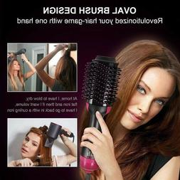 4 In 1 One Step Hair Dryer & Volumizer Brush Straightening C