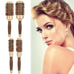 4 Size Professional Salon Ceramic Iron Comb Round Curl Hair