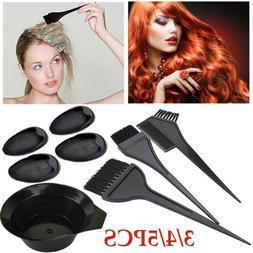 5pcs hair colouring brush and bowl set