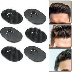 6 set Black Pocket Comb Brush Hair Men Beard Mustache Palm T