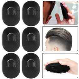 6Pieces Pocket Comb Brush Hair Men Beard Mustache Palm Trave