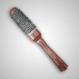 EASY Mart-Round Barrel Hair Brush with Boar Bristle for Hair