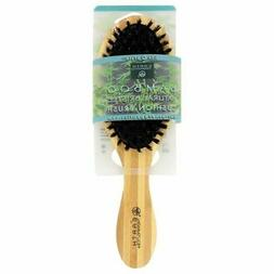 Earth Therapeutics Bamboo Natural Bristle Paddle Brush 1 Bru