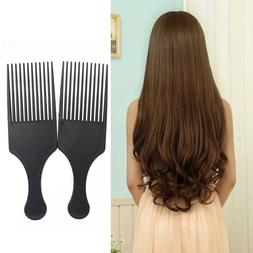 Afro Comb Curly Hair Brush Salon Hairdressing Styling Long T