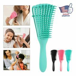 Detangling Brush For Curly Hair-African American Natural hai