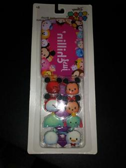 "AUTHENTIC Disney Tsum Tsum Hair Brush ""Just Chillin""with 4 H"