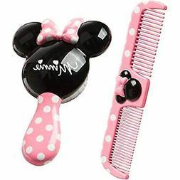 Baby Hair Brush And Comb Set Gift Soft Bristles Newborns Tod