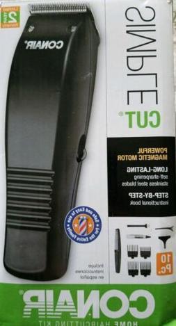 Conair Basic Trimmer & Home Haircutting Kit 10 Pc.