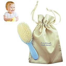 Bass BS26 Baby Hair Brush,100% Pure Soft White Natural Brist