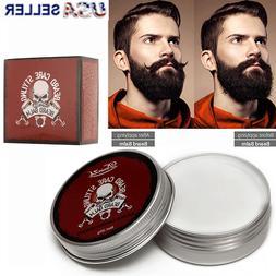 Beard Balm Wax Mustache Hair Growth Conditioner Care Softene