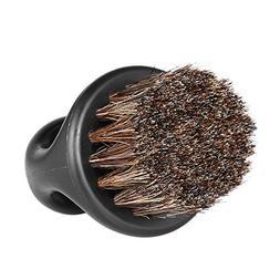 Anself Men's Beard Brush Barber Hair Sweep Brush Mustache Sh