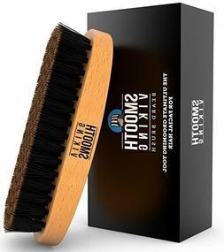 Beard Brush Wild Boar Bristles Men Easy Grooming Smooth Viki