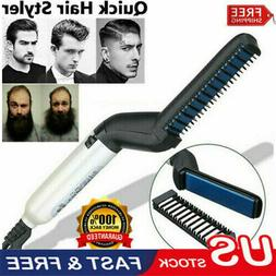 DICONNA Beard Hair Straightening Comb MediFit Cap Men Electr