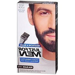 JUST FOR MEN Color Gel Mustache & Beard M-55 Real Black 1 Ea