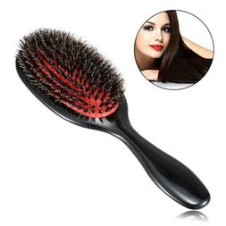 boar bristle and nylon hair brush oval