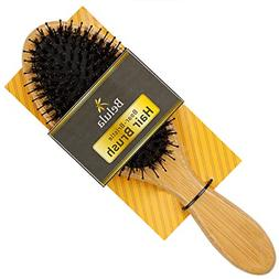 Boar Bristle Hair Brush for Women & Mens Detangling Brush fo