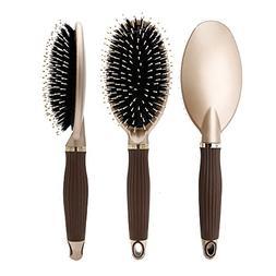 Elephbaby Boar Bristle Paddle Hair Brush,Detangling Brush