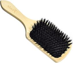 Fento Natural Boar Bristle Paddle Hair Brush – Condition &