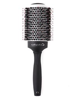 Best Boar Bristle Round Barrel Hair Brush Cristalbox, Three-