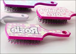 Boxer Glitter Hairbrush with Name Rosie