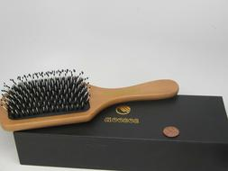 BRAND NEW  Hair Brush, Sosoon Boar Bristle Paddle Hairbrush