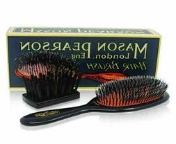 Mason Pearson Junior Bristle and Nylon Brush - BN2 - Dark
