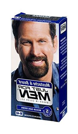 JUST FOR MEN Brush-In Color Gel, Medium-Dark Brown M-40 1 ea