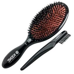 Kent Brushes Oval Cushion Hairbrush, Ruby CSML, Large, 6 Oun