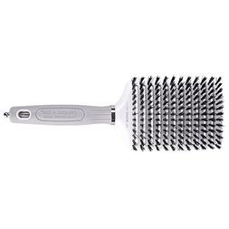 Olivia Garden Ceramic + Ion XL Boar 13-Row Vent Paddle Brush