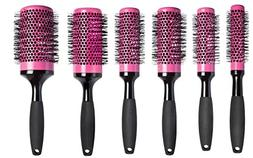 Diane Ceramic Round Brush Foam Handle Hair Brush Set - Get a