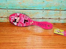 Childrens Hair Brush Stocking Stuffer Disney Minnie Mouse CH