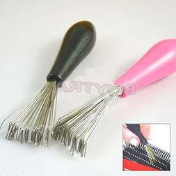 Comb Hair Brush Cleaner Cleaning Remover Embedded Tool Plast