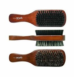 Diane # D8115 2-sided Club Hair Brush 100% Boar Wood handle