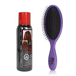 Wet Brush Pro Detangle Hair Brush, Metallic Purple + Jerome