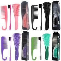 Detangling Brush for Curly Hair African American Natural hai